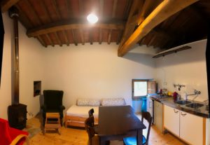 living room 2 Appartamento Torretta Podere Vallescura